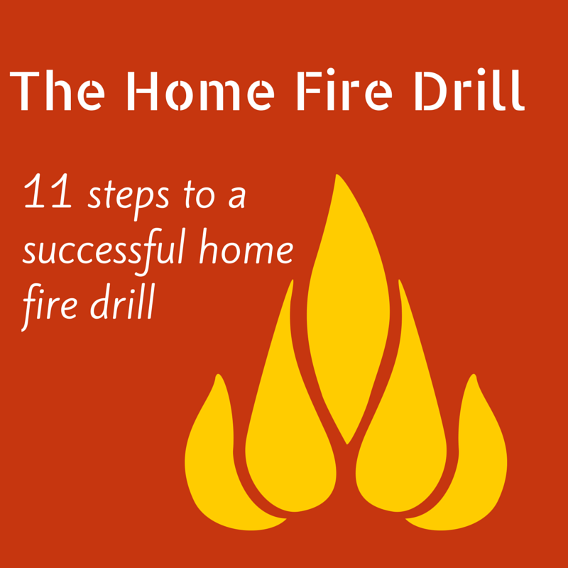 11 Steps to a successful home fire drill