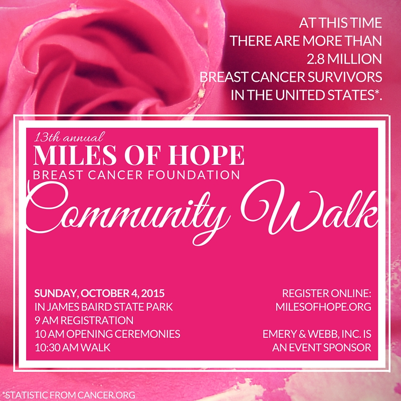 2015 Miles of Hope Community Walk