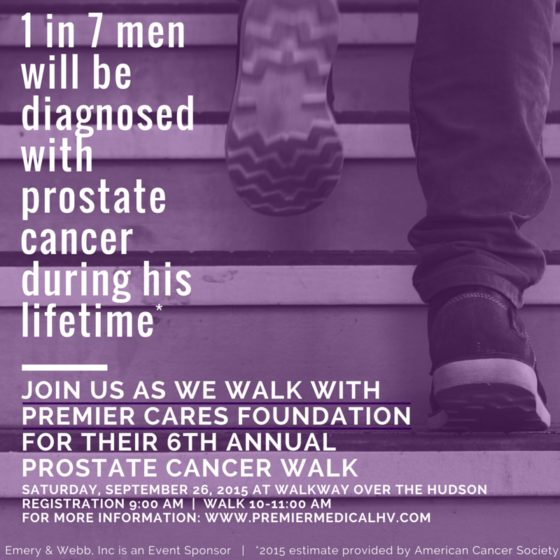 2015 Prostate Cancer Walk – Walkway Over the Hudson (NY)