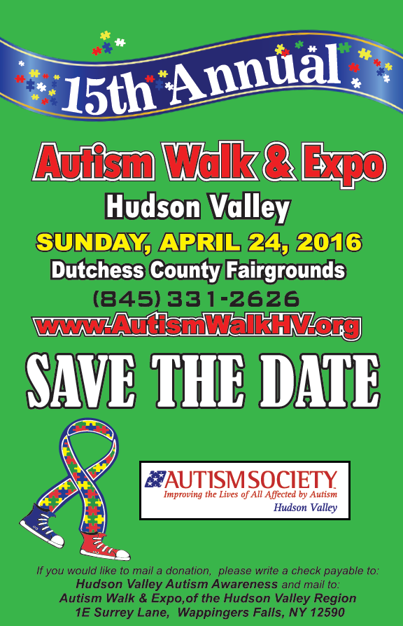 Autism Society Hudson Valley 15th Annual Walk